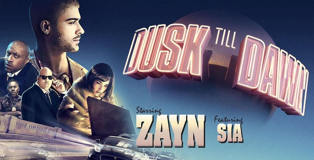 Zayn+Malik+and+Jemina+Kirke+star+in+the+music+video+for+Malik%27s+new+single%2C+%22Dusk+till+Dawn%2C%22+featuring+Sia.