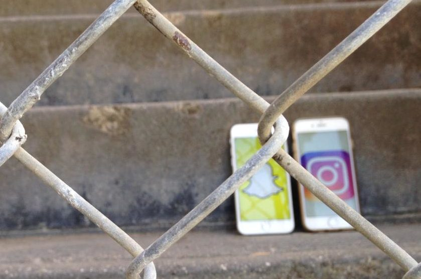 Snapchat and Instagram are fenced off on Carlmont's student Wi-Fi.