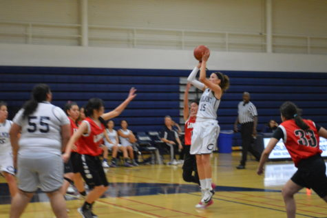 Girls' junior varsity basketball displays dominance against the Titans