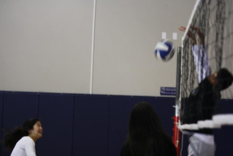 Boys volleyball enjoys opportunity to play at lunch