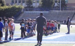 Carlmont hosts flag football clinic with local NFL player