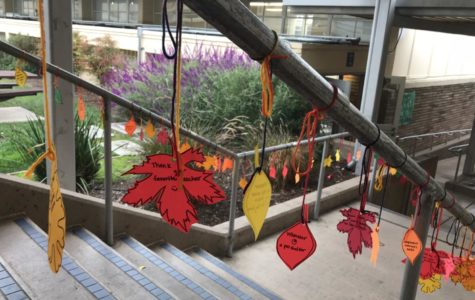 Thanksgiving Tree spreads appreciation among students