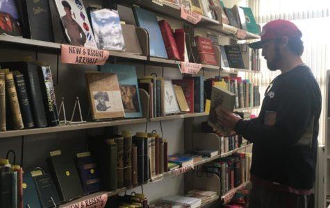 Used books serve new purpose