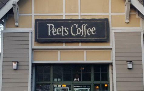 Peet's Coffee welcomes customers with freshly-brewed coffee