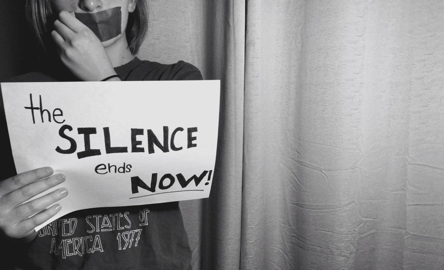 Fifteen to 35 percent of sexual assaults get reported,  it's time to break the silence and speak out.