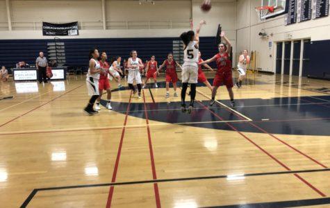 Freshmen girls' basketball shows no mercy