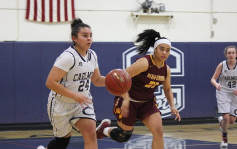 JV girls' basketball disappointed after loss against the Bears