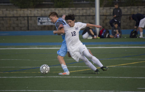 Varsity boys' soccer completes draw against Hillsdale