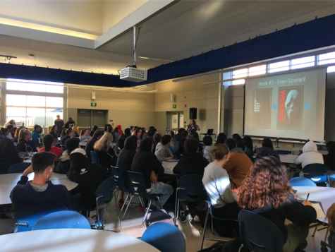 Author visit at Carlmont inspires students
