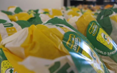 Scots chomp into newly added Subway sandwiches at the Student Union