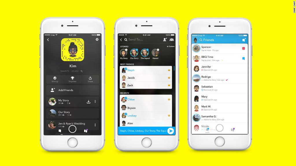 The latest Snapchat update combines stories and chats on one screen, making it confusing for users.