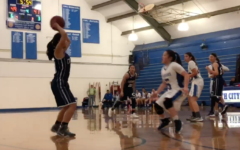 Varsity girl's basketball falls in first round of playoffs