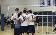 Boys' varsity volleyball serves Everett-Alvarez 3-0 defeat