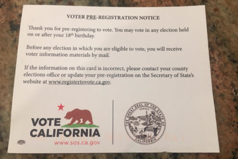 California enacts automatic voter pre-registration