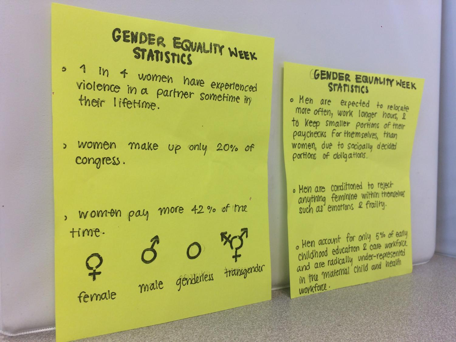 ASB+made+imformational+pamphlets+about++statistics+for+gender+equality.