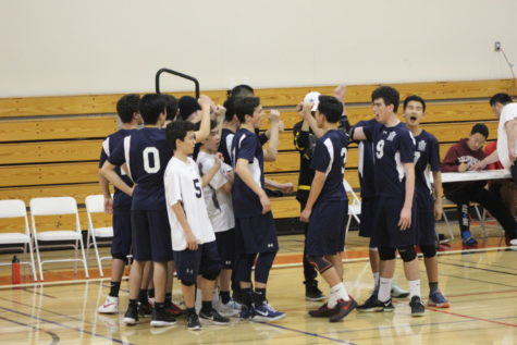 JV boys' volleyball emerges victorious over Aragon