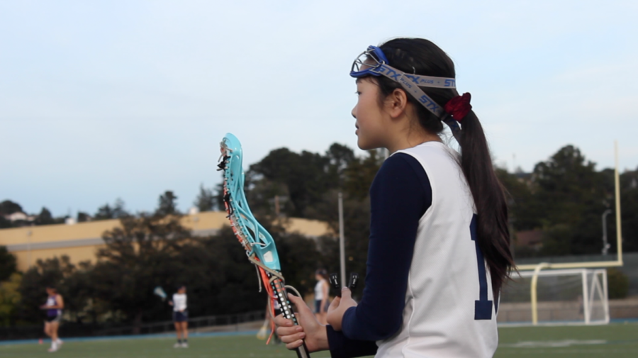 JV girls' lacrosse first game ends with a win