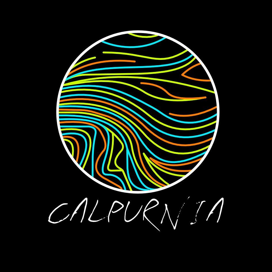Calpurnia's band logo and album art often displayed to the public via merchandise and social media.