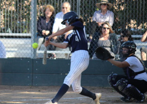 Varsity softball knocks Sequoia 'out of the park' in a 10-0 game