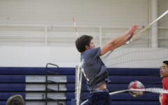 Varsity boys' volleyball plays their best game of the season