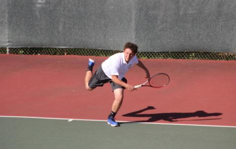 Varsity boys' tennis remains undefeated