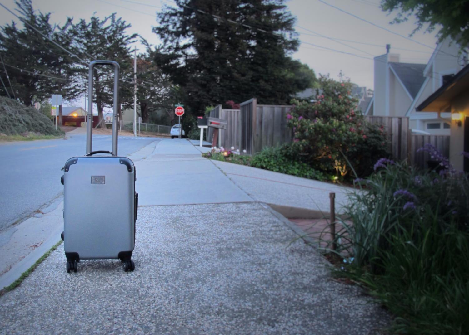 Facing frequent location transfers, foster children often are able to fit all of their belongings within a suitcase.
