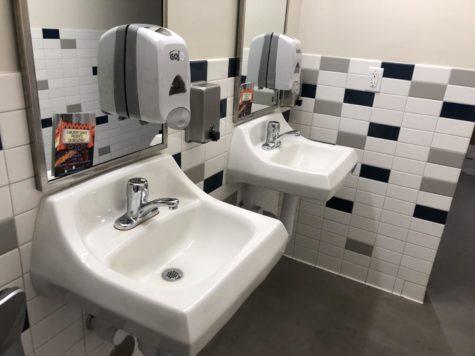 School bathrooms show uncleanliness