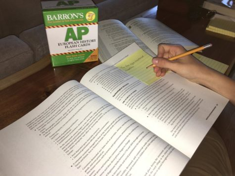 Students continue preparing for upcoming AP tests