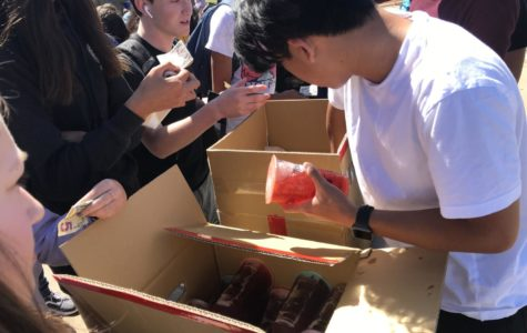 TPumps for students helps kick off the last month of school