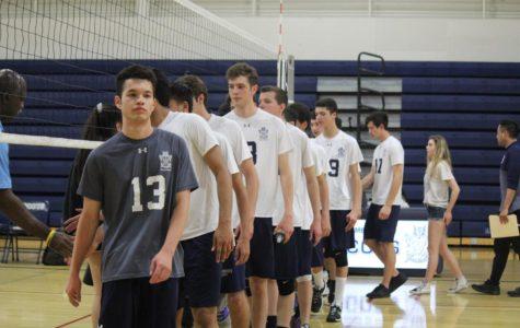 Boys' varsity volleyball dominates San Mateo