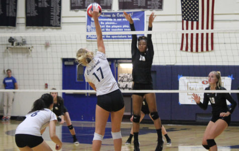 Girls Varsity volleyball falls to Archbishop Mitty in pre-season match