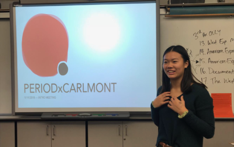 PERIOD chapter brings the menstrual movement to Carlmont