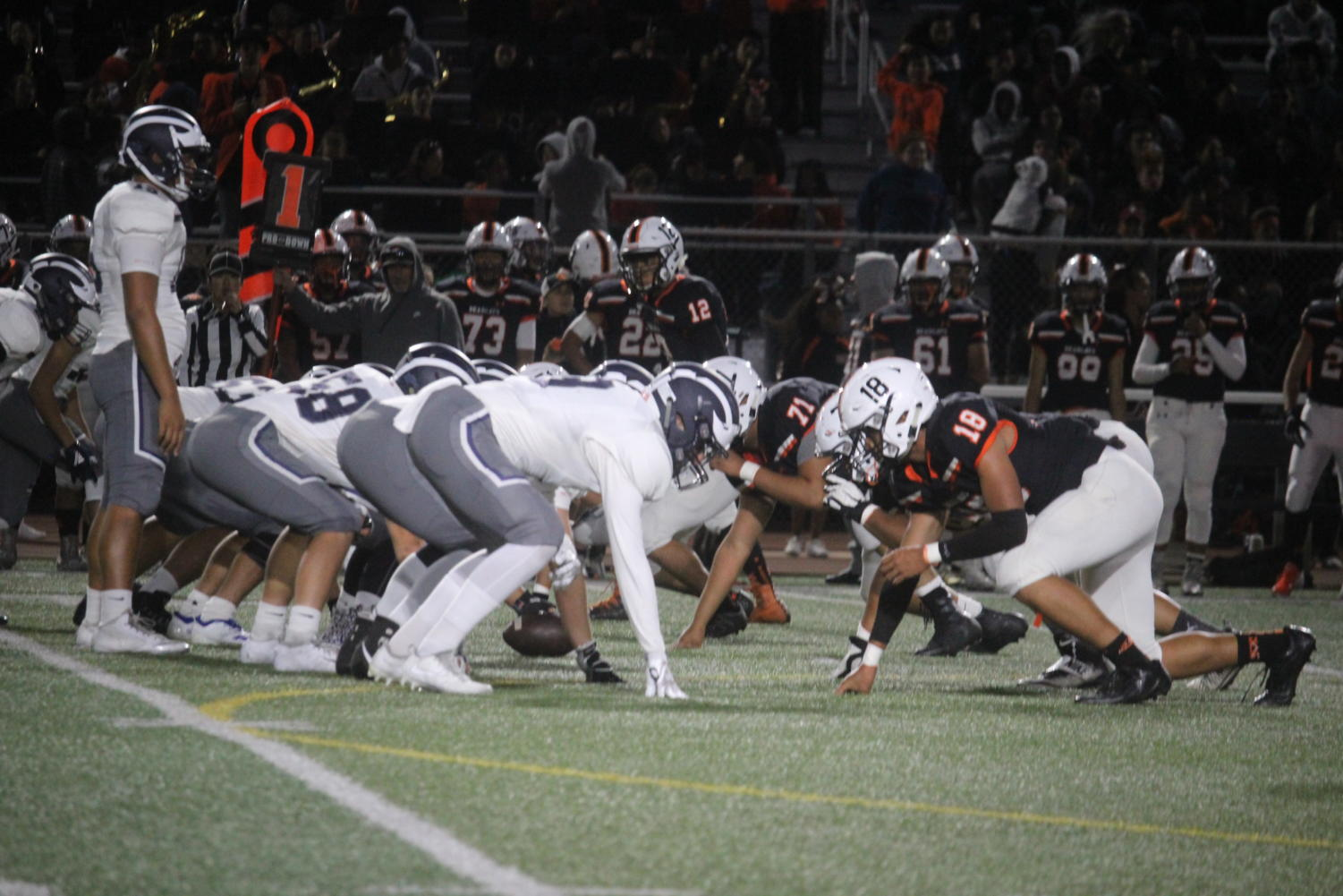 The+Carlmont+Scots+and+San+Mateo+Bearcats+face+each+other+on+Friday%2C+Sept.+15.