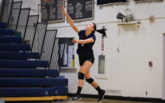 Girls freshman volleyball team beat Burlingame in two sets