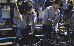 Carlmont Drumline encourages school spirit