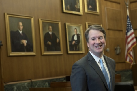 Brett Kavanaugh poses for a picture. Kavanaugh was recently accused of sexual misconduct and harassment.