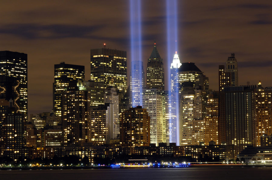 The+memorial+of+the+twin+towers+was+completed+on+Sept.+11%2C+2011+in+remembrance+of+9%2F11+that+occurred+just+10+years+before.+