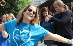 Hundreds walk for awareness of suicide prevention