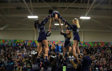 Students 'ride the tide' of school spirit