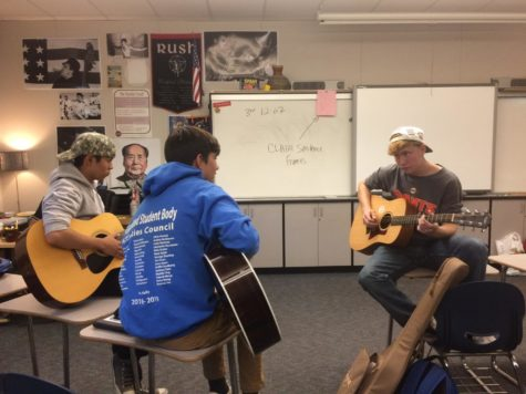 Guitar Club strikes a chord within members