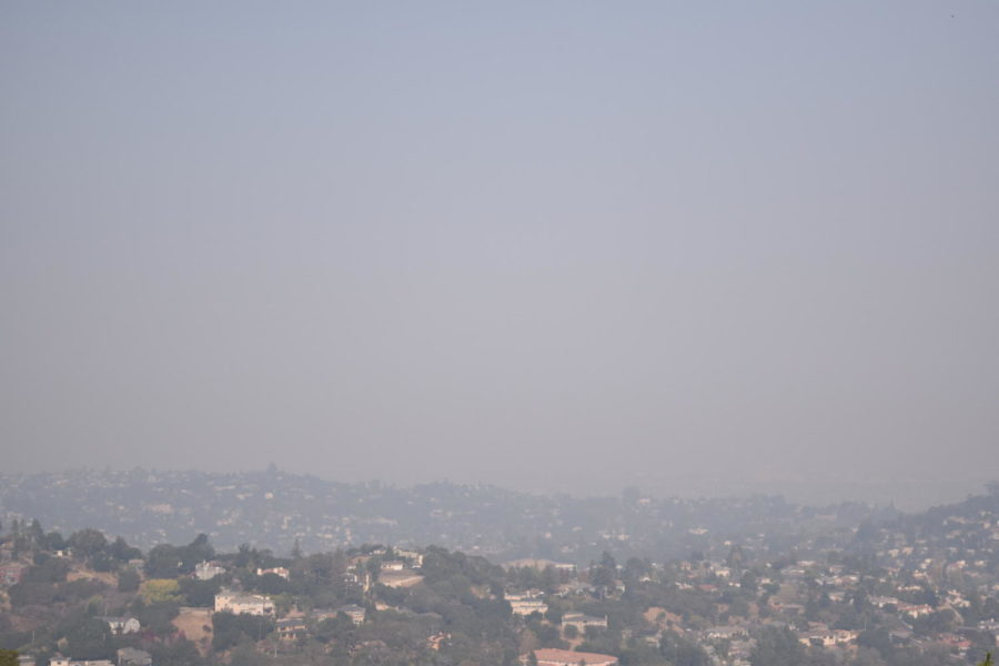 The+smoke+is+still+thick+over+cities+near+the+bay.