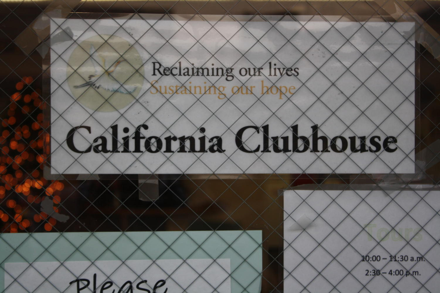 California Clubhouse in San Carlos. The nonprofit organization is the only one like it in San Mateo County.