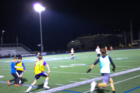Staggering number of freshmen try out for boys soccer
