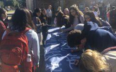 Students show solidarity against anti-Semitism
