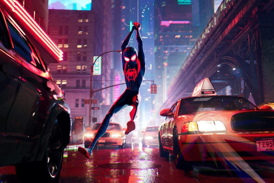 Miles+Morales+swings+into+Brooklyn+as+one+of+six+spider-people+in+%E2%80%9CSpider-Man%3A+Into+the+Spiderverse.%E2%80%9D