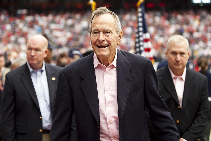Former+President+George+H.W.+Bush+passed+away+on+Nov.+30%2C+2018.