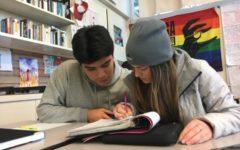 AVID students prepare for finals