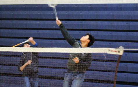 Badminton Club trains members before tryouts