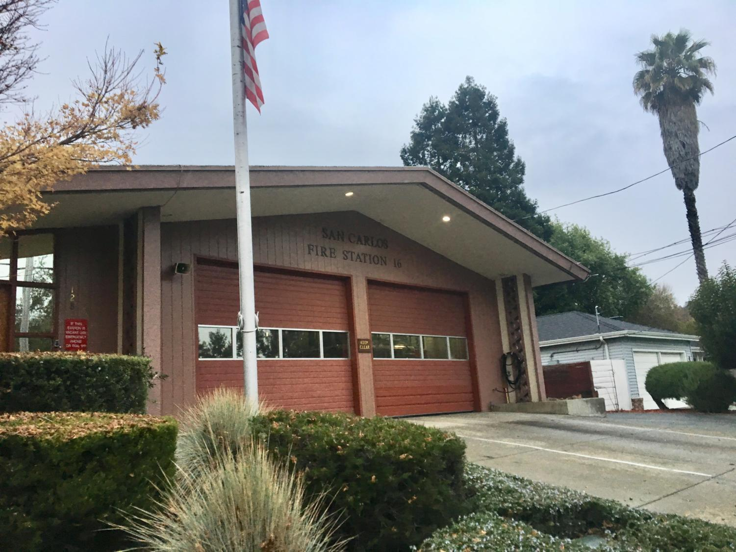 Station 16 in San Carlos is one of the three fire stations that respond to accidents in the area.
