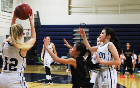 JV girls basketball team dominates Chargers on the court